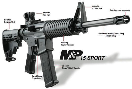 m&p 15 sport
